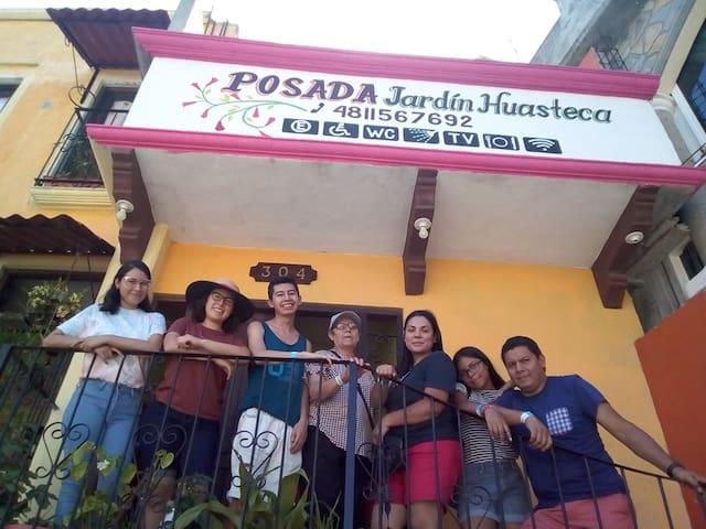 Posada temática Jardín Huasteca