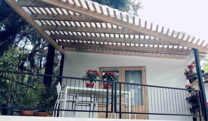 Hermosa casa con terraza