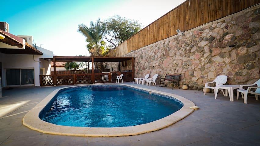 Lovely Family Villa - Eilat - Casa de camp