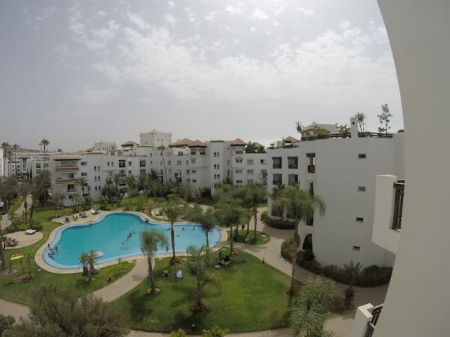 Magnifique 3 pièces marina Agadir - Agadir - Wohnung