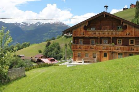 Uriges Bauernhaus - Nähe Schigebiet - Gerlosberg - Apartment