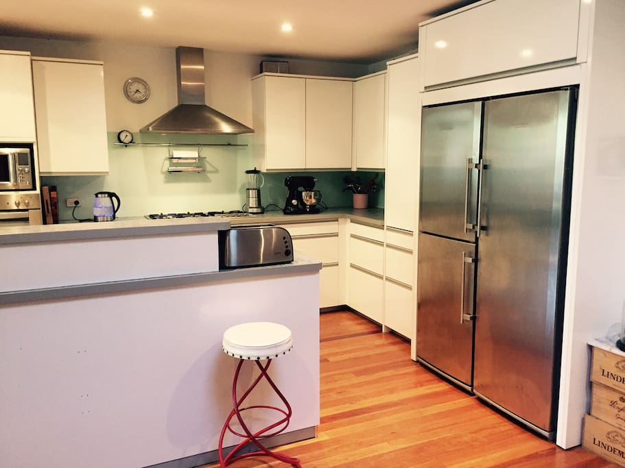 Well appointed modern kitchen