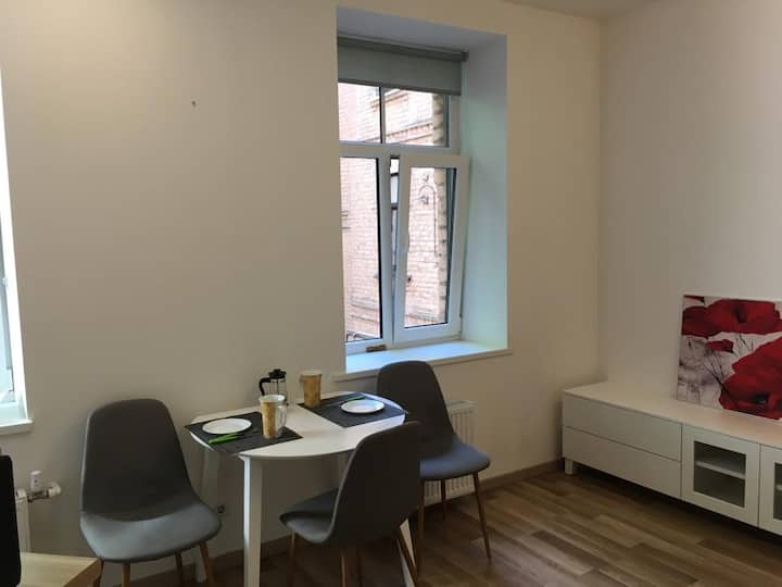 Nice studio apartment in the center of Riga
