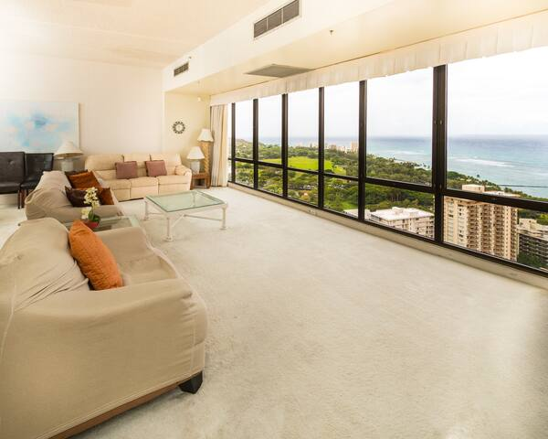 Waikiki Sunset 2 Bed Penthouse Suite 3806 - Waikiki - Condo