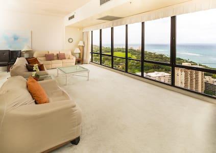 Waikiki Sunset 2 Bed Penthouse Suite 3806 - Waikiki - 公寓