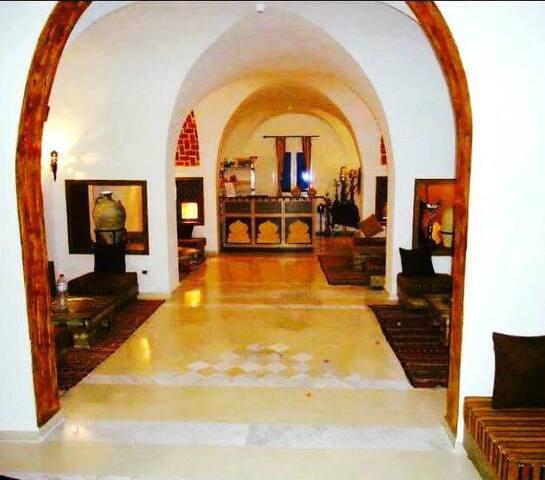 Chambre Triple -1- Fertile Mezraya, Djerba