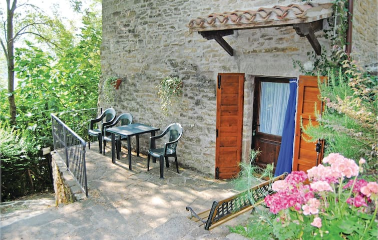 Holiday apartment with 1 bedroom on 40m² in Borgo Pace PU