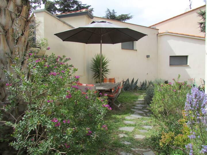 Appart centre ville jardin piscine commune wifi