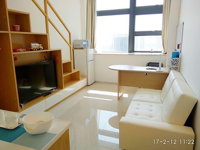 厦门阳光蓝6·欢迎周租&月租·公交BRT和空中自行车枢纽主站·速达机场火车站鼓浪屿 - Xiamen Shi - Apartament
