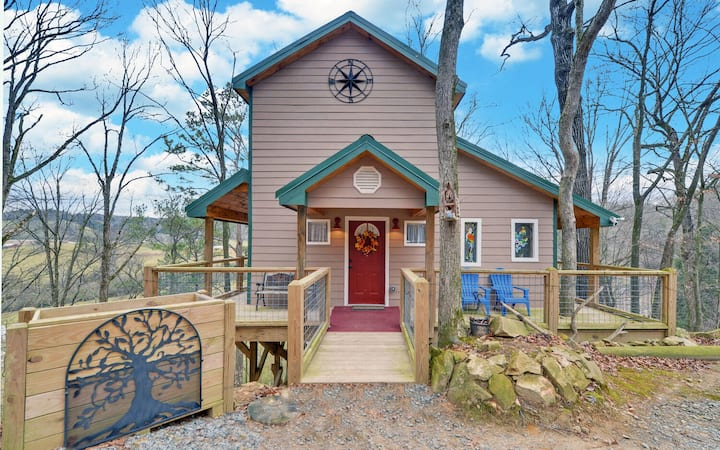 Treehouse Ellijay Star5vacations