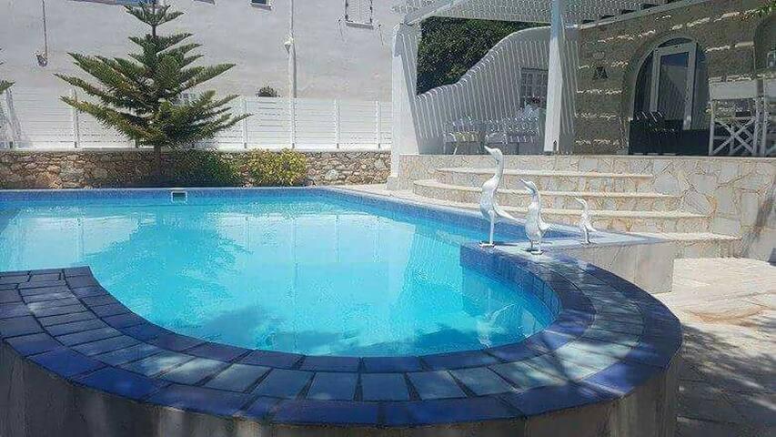 Summer vila in Paros - Αλυκή - Talo