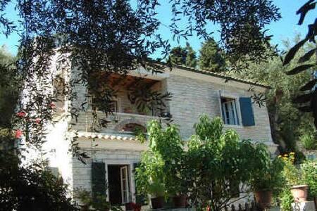 Marmari Stone Apartment Loggos Paxos
