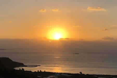 ☆神の島「久高島」&「水平線からの日の出」を臨む抜群のロケーション!!