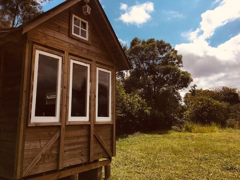 TINY HOUSE Frente da LAGOA e próx ao mar! Waktu