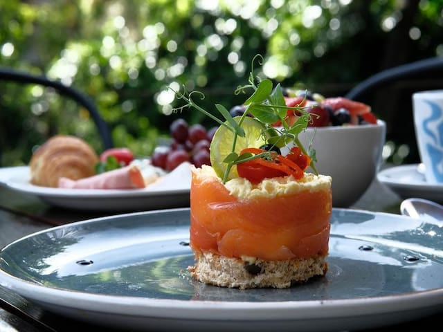 Delicious Breakfasts Served at The Tree House Boutique Hotel