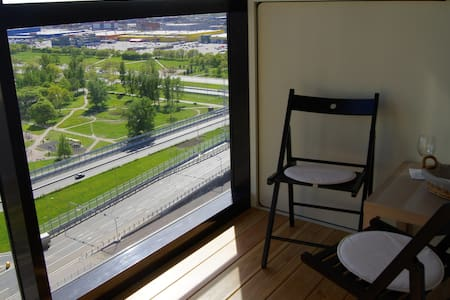 Апартаменты 21 этажЕ Апартотель Салют Пулковское ш