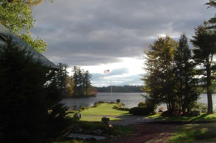 Lakefront Maine Resort foothill White Mtn Ntl Park