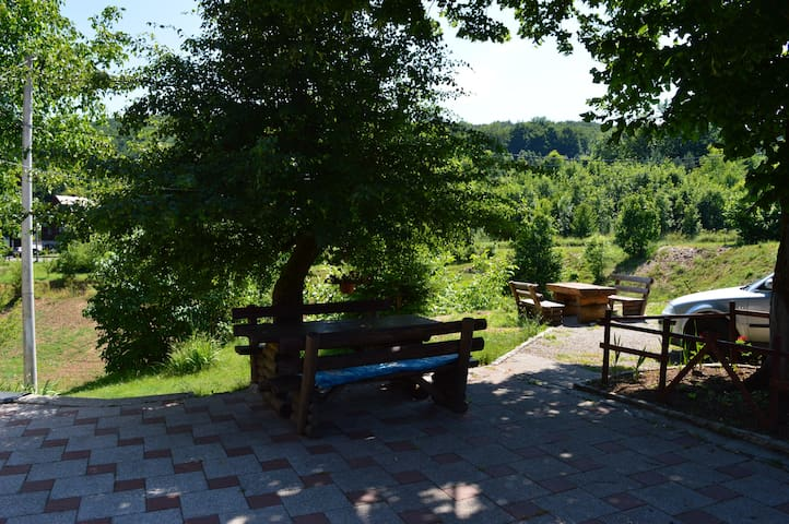 Family hotel- Double room near Plitvice Lakes - Jezerce - Casa