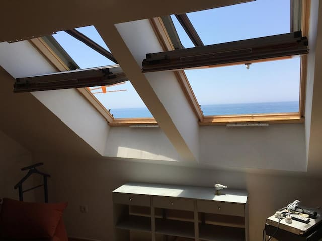 First line beach apartment