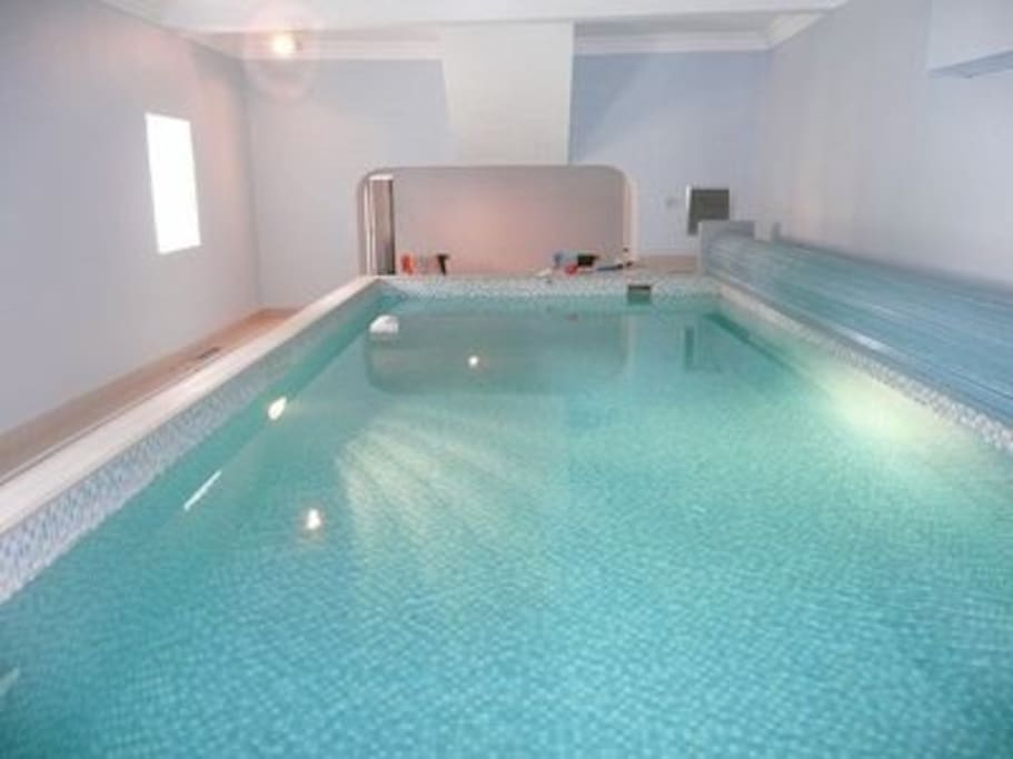 Exclusive use of Private Heated Indoor Swimming Pool
