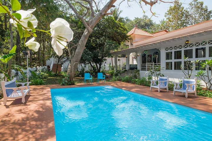 Inner Temple, Luxury Boutique Villa in Moira, Goa - Moira