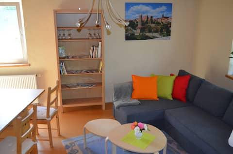 Zimmer in ruhiger und schöner ländlicher Lage