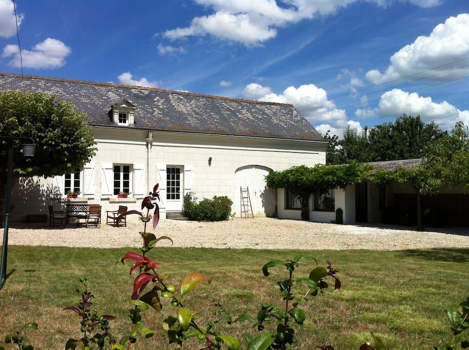 L 39 atelier situ entre beauval et chenonceau chambres - Chambre d hote pres du zoo de beauval ...