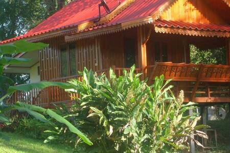 Buhom Mekong Riverside Resort  Thai House # 2