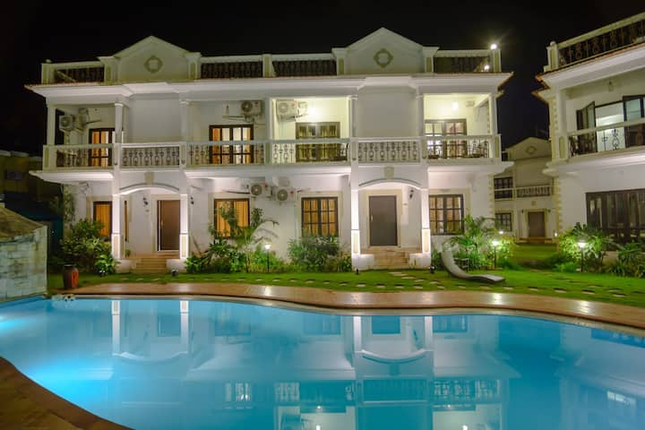 LUXURY 3BHK Villa with Swimming Pool and Garden
