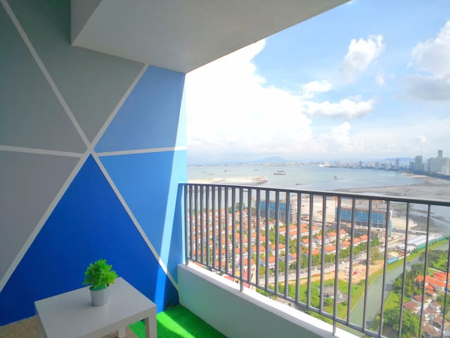 Our guests love to spend their time in watching the seaview and the sky from our private balcony.