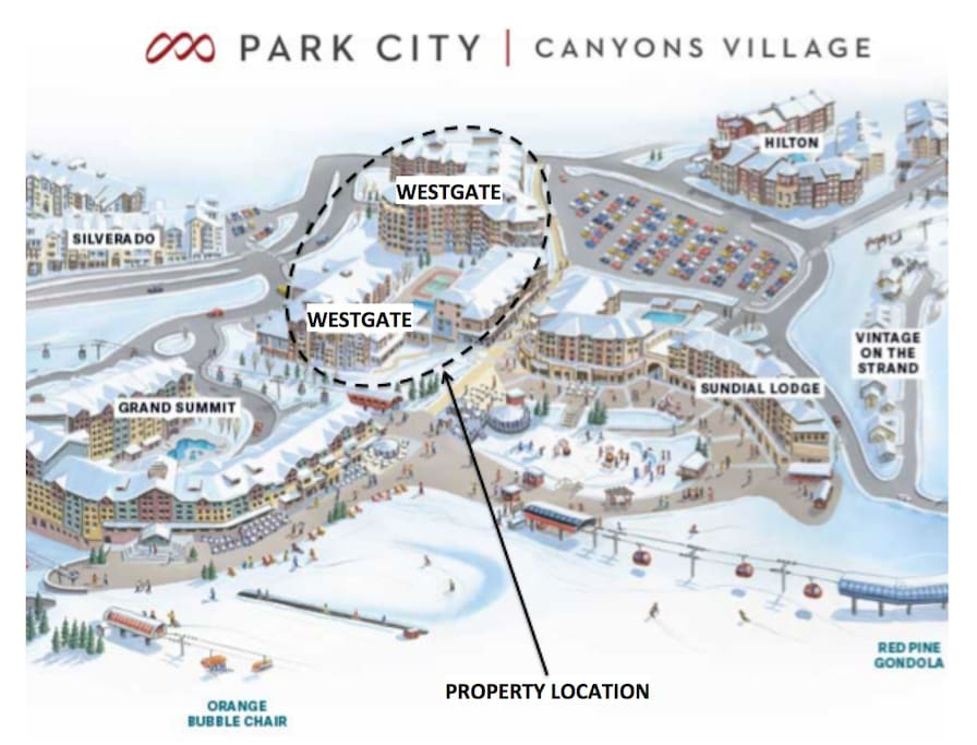 property is located in the very heart of Park City's Canyons Village