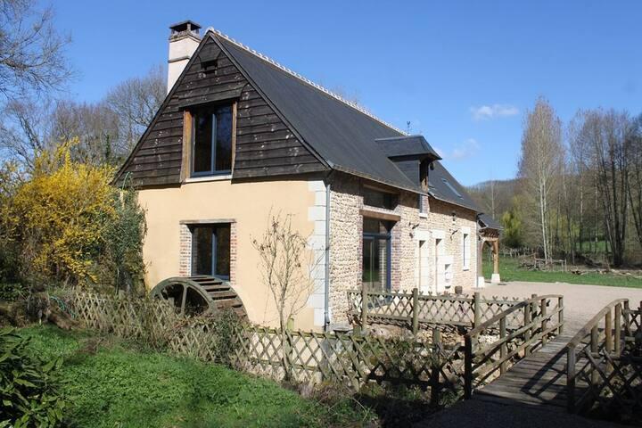 Gîtes du moulin d'hilleraie - Luceau - Ev