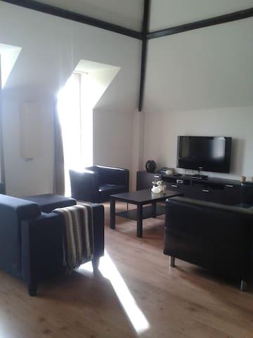 modern appartement in centrum van Brielle