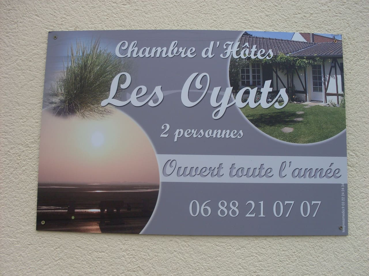 "Les Oyats Le Crotoy les oyats "" chambre d'hôtes - guesthouses for rent in le crotoy"