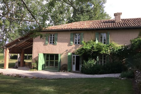 Countryside retreat with private swimming pool - Saint-Laurent - House