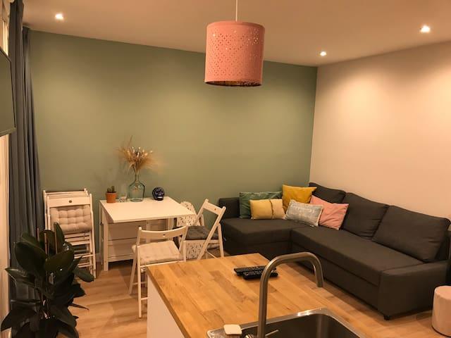 Perfect apartment to visit Paris
