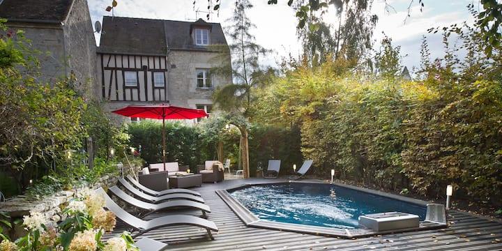 Côté Jardin hôtel particulier centre ville piscine
