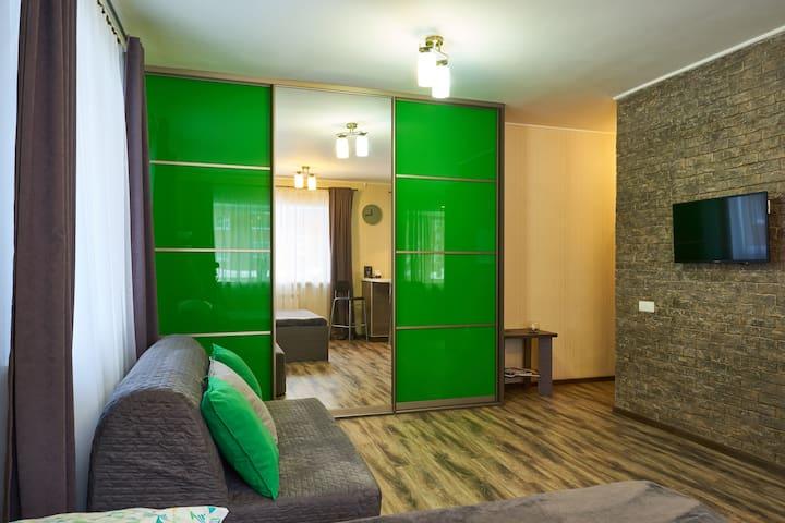 Стильная квартира рядом с Новособорной площадью