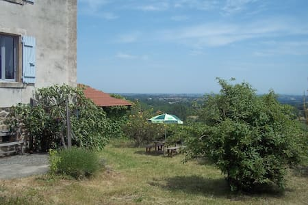 2 chambres dans maison de campagne - Saint-Alban-d'Ay - บ้าน