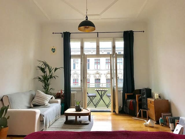 Huge Bright Charming Master Room + Private Balcony