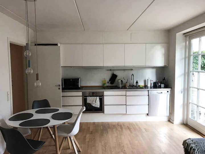 cosy apartment with good connection to the City