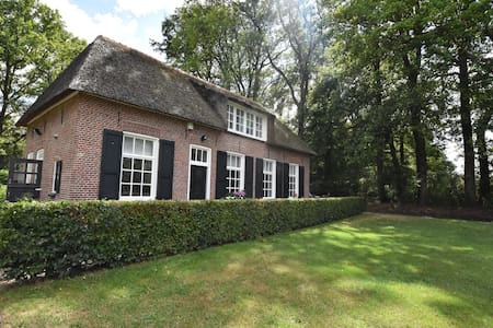 Farmhouse On Natural Reserve in Rijssen with Garden