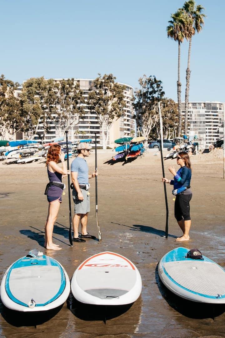 Paddle  instruction + climate talk