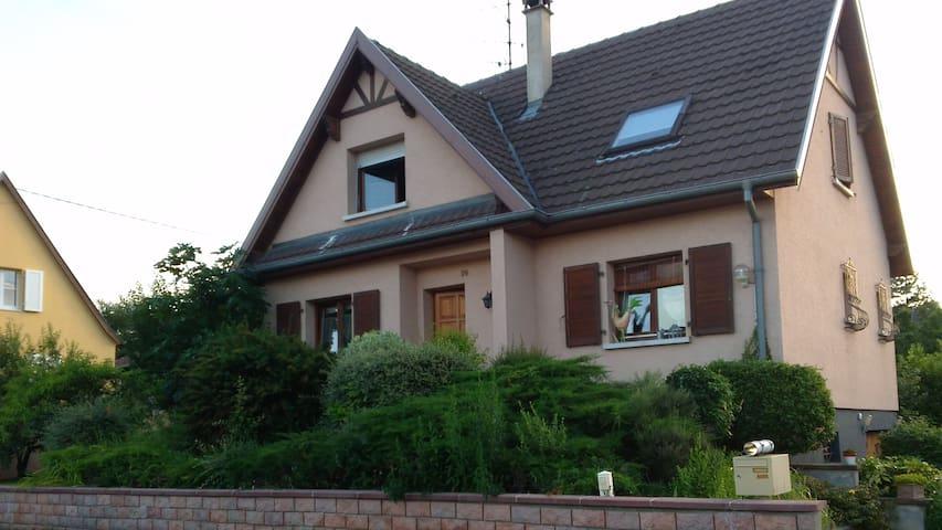Alsace Maison individuelle - Sigolsheim - Haus