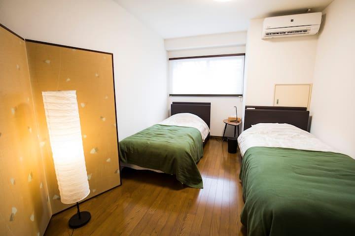 Comfortable beds in BEDROOM 1