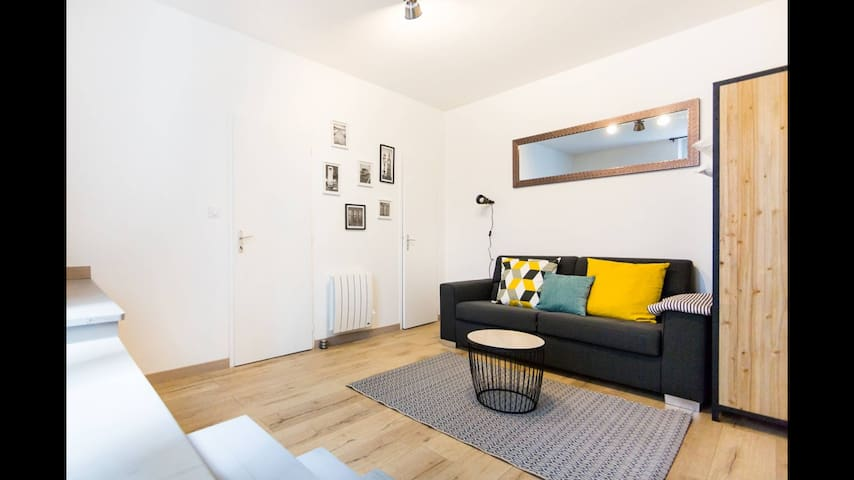 Appartement charmant au cœur de Nantes