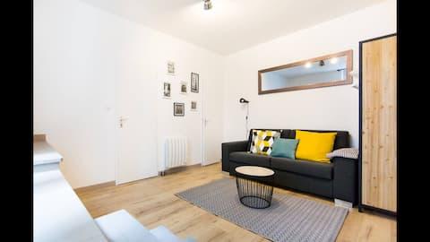 Appartement charmant au cœur de Nantes