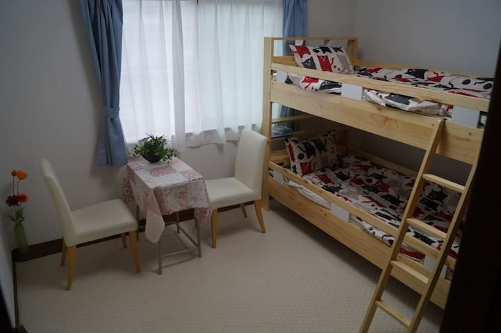 Guesthouse YumeyaTwin Room Bunk Bed - Fujikawaguchiko-machi - Ház