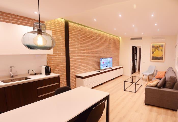 Apartamento moderno en el corazón de Chueca