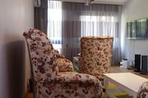 Living Area with Sat TV (beIN & OSN)